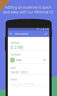 Expense Manager screenshot