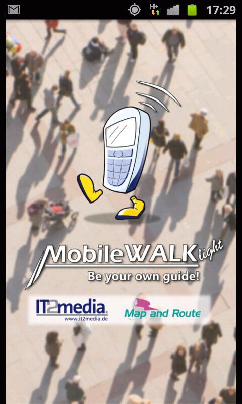MobileWALK Light - screenshot
