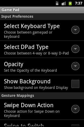 GamePad 1.6.1 screenshots 3