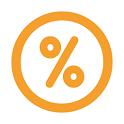 Porcentaje de panadero icon