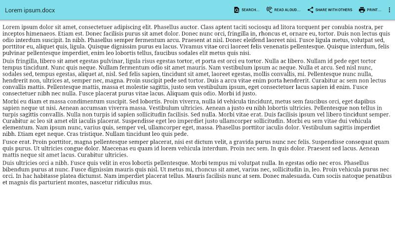 Office Documents Viewer Screenshot 3