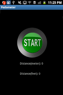 Pedometer Or Odometer - screenshot thumbnail
