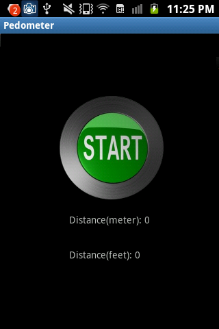Pedometer Or Odometer - screenshot