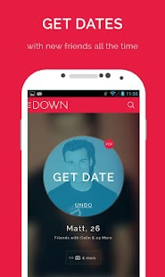 DOWN - Dating - screenshot thumbnail