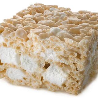 Double Marshmallow Puffed Rice Treats.