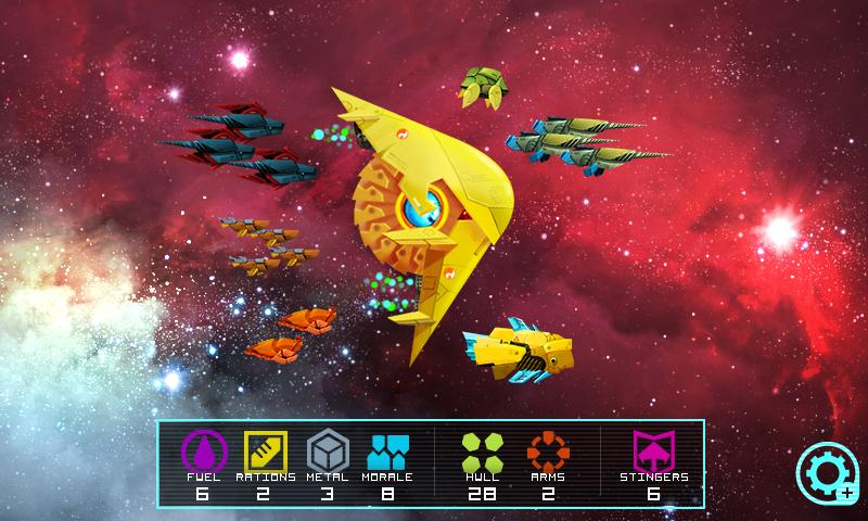 Astro Frontier Lite - screenshot