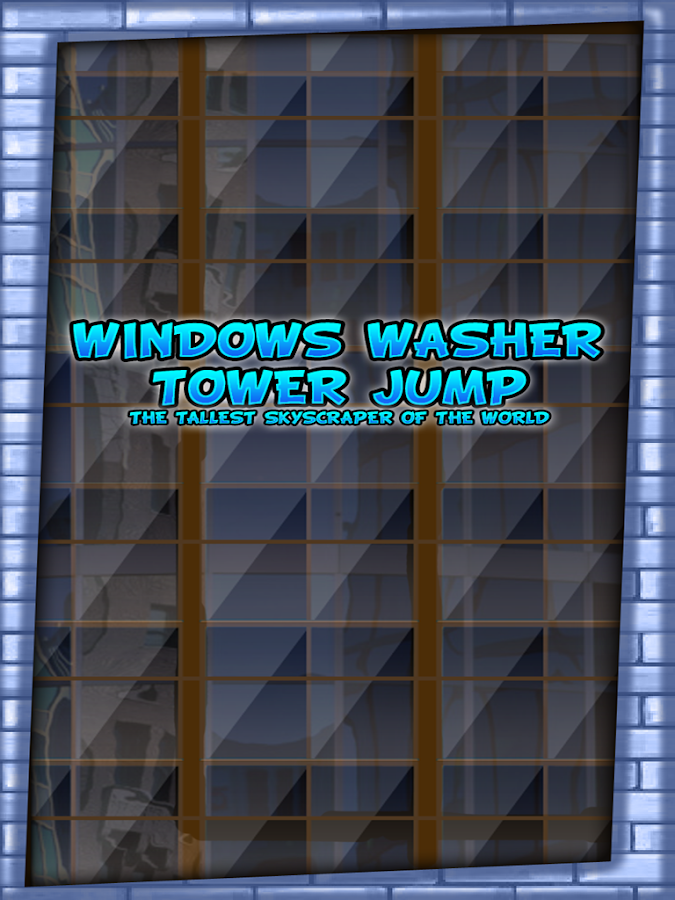 Windows Washer Tower Jump Gold - screenshot