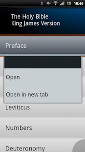 Holy Bible -King James Version - screenshot thumbnail