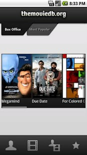 The Movie Database - screenshot thumbnail