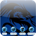 Musical Dragon [SQTheme] ADW logo
