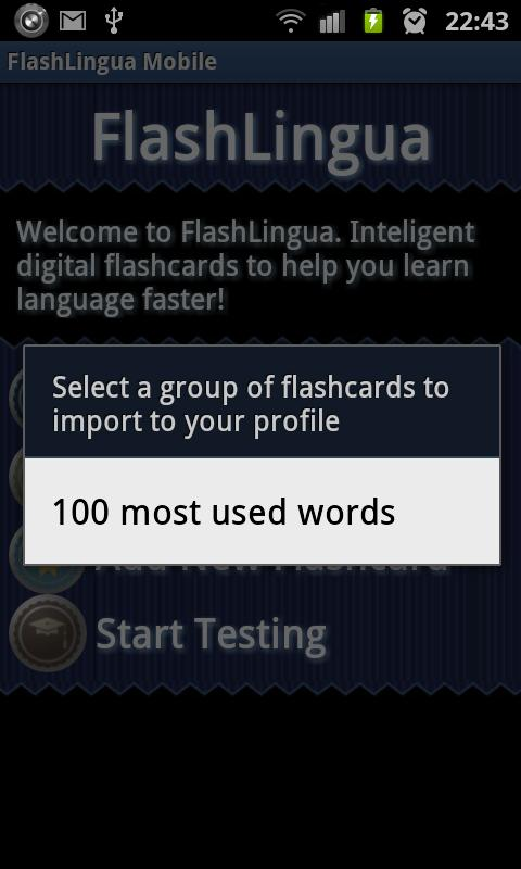 FLASHCARDS - Spanish & German - screenshot
