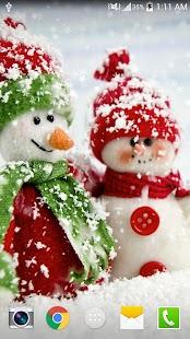 Vánoční HD Live Wallpaper - náhled