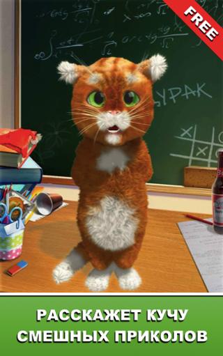 Дерзкий Барсик: говорящий кот
