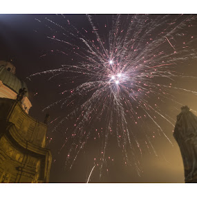 Prague! by Marko Icelic - Abstract Fire & Fireworks