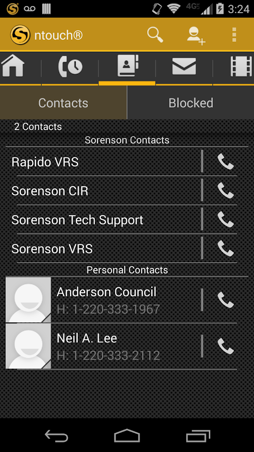 ntouch® Mobile - screenshot