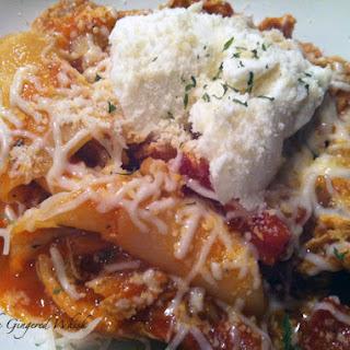 Stovetop Chicken Lasagna Stew
