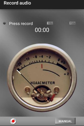 Hi Quality Rec Audio recording