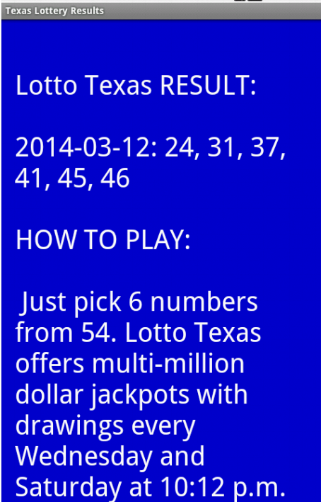 all or nothing texas lottery strategy