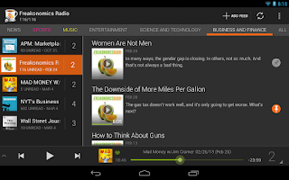 Screenshot of BeyondPod for Tablets - Legacy