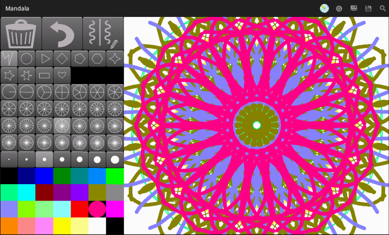 Mandala Maker Free Android Apps On Google Play