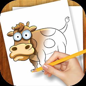 学画画农场动物 家庭片 App LOGO-硬是要APP