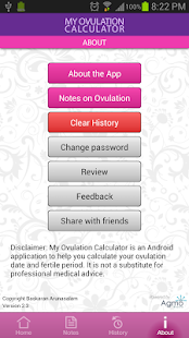 My Ovulation Calculator- screenshot thumbnail