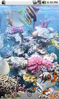 Screenshot of The real aquarium - LWP