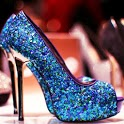 fashion high heels shoes show icon