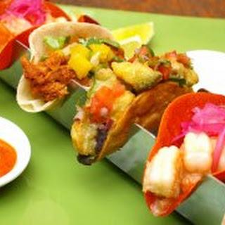 Tacos Al Pastor & Pineapple Salsa