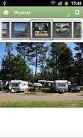 Screenshot of Hätte Camping, Tranås, Sverige