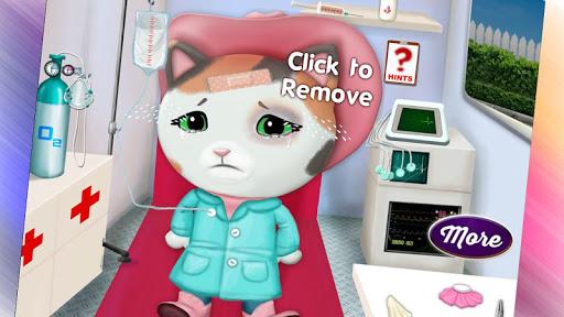 Cat In Ambulance - Pet Game