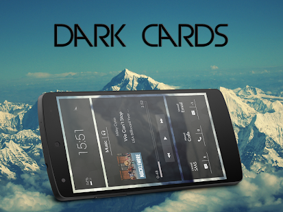 Black Cards - Zooper skin - screenshot thumbnail