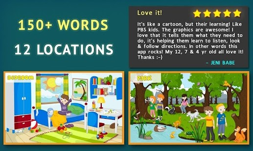 Words for Kids - Reading Games - screenshot thumbnail