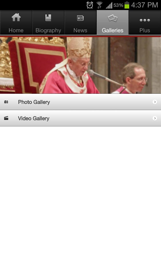 LB PAPAL Visit - screenshot