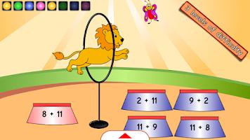 Screenshot of Maths Artists first grade