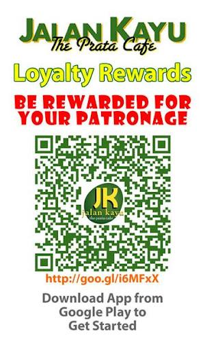 Jalan Kayu Prata Cafe Rewards