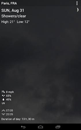 Digital clock & world weather 1.05.49 screenshot 194381