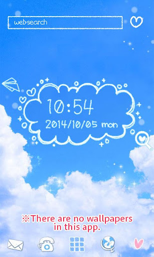 Cute Clock Widget 2 u3010FREEu3011 1.0.1 Windows u7528 6