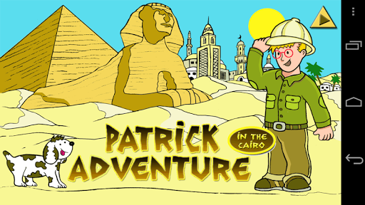 Patrick in the Cairo