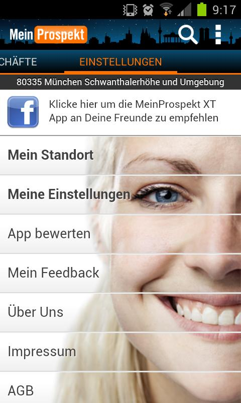 MeinProspekt XT 2012 - screenshot