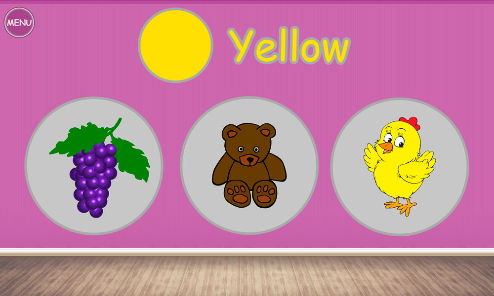 olors for kids toddlers babies learning game screenshot - Color Games For Toddlers