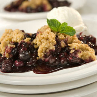 Country Blueberry Crisp
