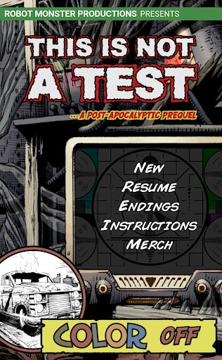 TINT A Survival RPG Comic Book