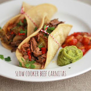 Slow Cooker Beef Carnitas