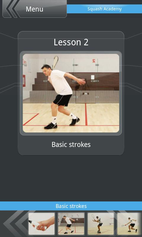 Squash Academy Lite- screenshot