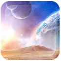 Space World Live Wallpaper Pro icon