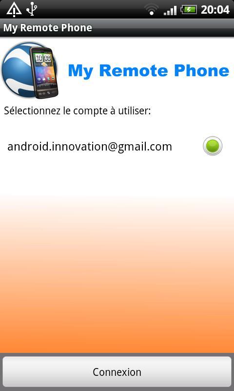 My Remote Phone - screenshot