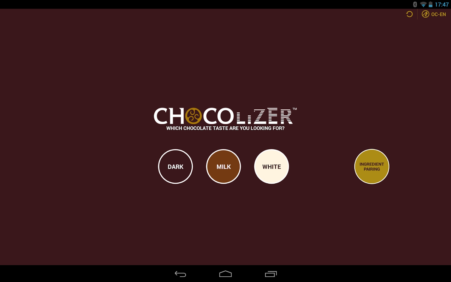 Chocolizer™- screenshot