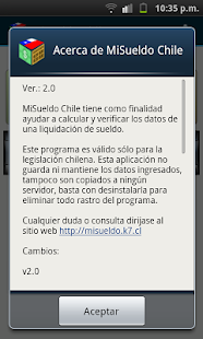 MiSueldo Chile - screenshot thumbnail