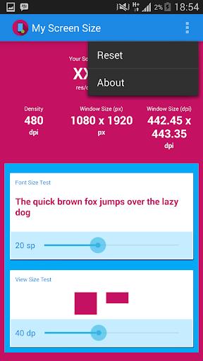 【免費工具App】My Screen Size-APP點子
